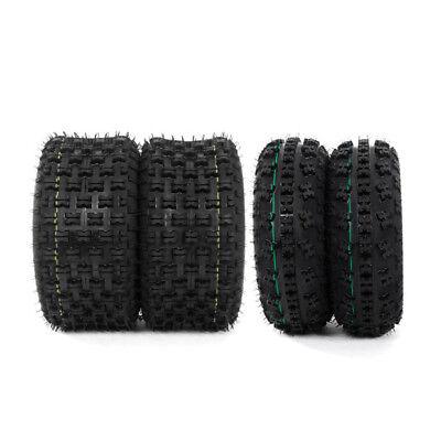 (21x7-10 & 20x10-9 ATV TIRE Set of 4 for HONDA TRX 300EX 400EX 400X 450R New)