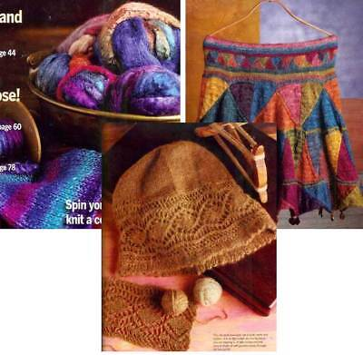 Spin-off magazine winter 2008: unspun caps, dog down, spinning for weaving