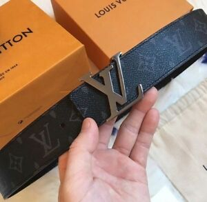 Reversible Louis Vuitton belt