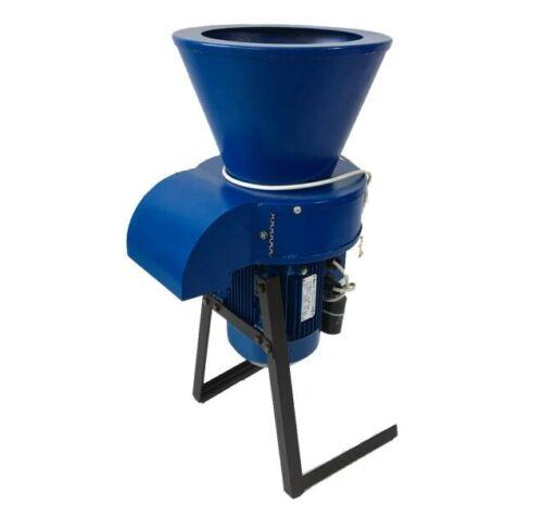 Straw Cutting Grass Chopper for Granulation 40kg/h + Engine 1.5kW + Stand