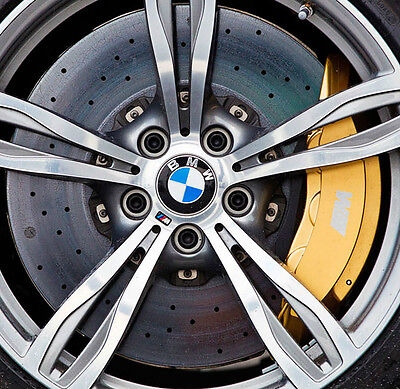 BMW OEM F10 M5 F12 F13 M6 Gold Brembo Carbon Ceramic Brake Retrofit Upgrade Kit