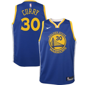 los angeles 9837a 6271d Nike NBA Golden State Warriors Stephen Curry Jersey 9z2b7bz2p Blue (youth  Xl)