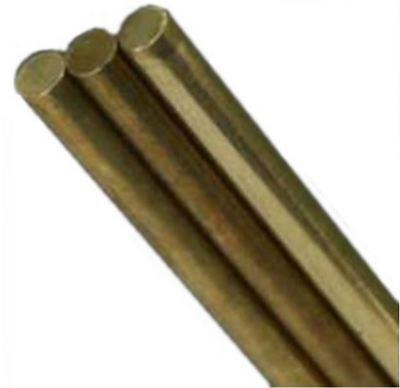 Ks 8165 Solid Brass Rod Round 12