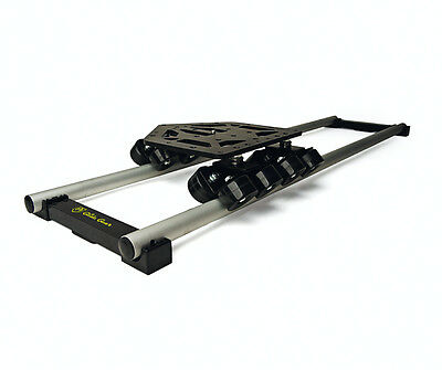 DEV Dolly Glide Gear Video Camera Tripod Track Rail Dana Wheel Roller Slider