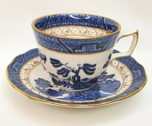 Booths Real Old Willow Royal Doulton Cup & Saucer