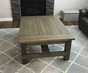 Rustic Solid Pine Coffee Tables, End Tables & Sofa Tables