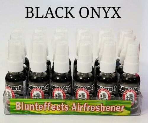 Blunt Effects Concentrated Spray Air Fresheners! Blunteffects BLACK ONYX Display Air Fresheners