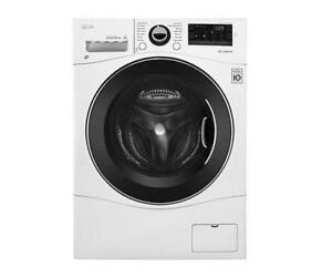 "LG Electric 24"" 2.6 Cu Ft Washer/Dryer Combo 6motion Technology"