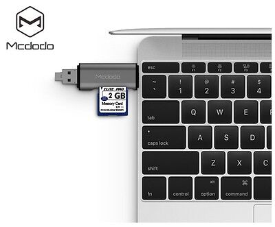 Кардридер Mcdodo Type-C Micro USB SD+TF