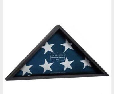 American`Flag** Black  Display CASE** Burial Flag*& Free shipping*
