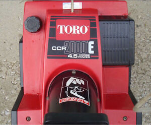 Toro CCR 2000E