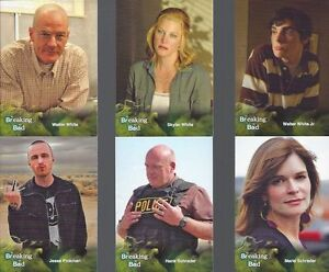 BREAKING BAD 134 CARD BASE SET SEASON 1 TO 5 W/WRAPPER