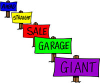 Big GARAGE sale -1531 elmwood dr. Sat 8-4