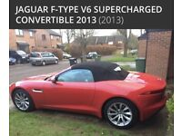 **SOLD** Stunning Jaguar F-Type V6 Supercharged Convertible