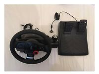 Logitech driving force gt steering wheel with stand wheelstand pro
