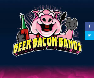 2 Tickets Beer Bacon Bands FRIDAY NIGHT