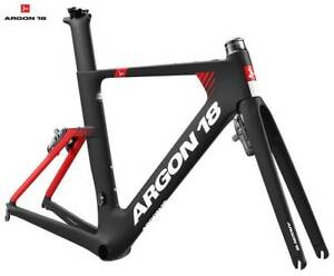 2019 Argon 18 E-117 Tri Frameset blk/red or blue/red rrp$2299 Concord West Canada Bay Area Preview