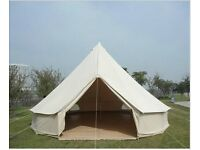 Bell Tent, Tipi, Teepee Tent. Pyramid tent.