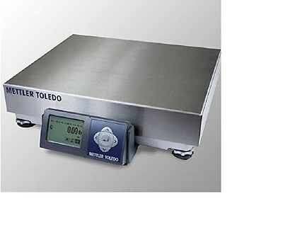 Mettler Toledo Bc-60u Shipping Scale 150 Lb X 0.05 Lb Stainless Top New