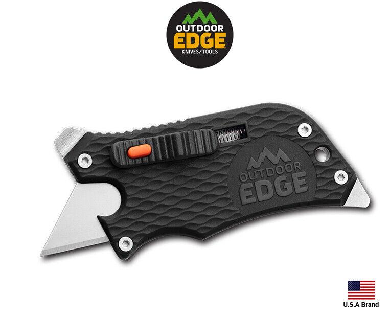 Outdoor Edge Slidewinder Utility Knife, Box Cutter, Screwdri