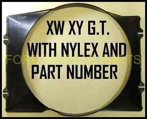 FORD-FALCON-XW-XY-GT-HO-PLASTIC-RADIATOR-SHROUD-351-CLV