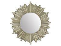 Laura Ashley Lovell Round Champagne Mirror