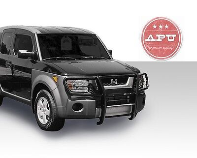 APU fits 2003-2008 Honda Element Black Grille Guard Push Bar Brush Guard bumper