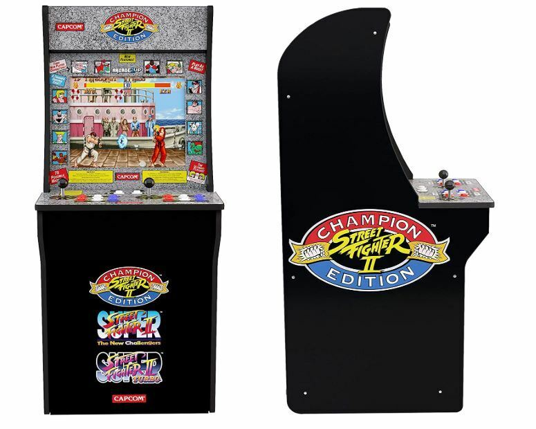 Arcade1Up Street Fighter - Classic 3-in-1 Home Arcade 4Ft - Brand New - In Stock