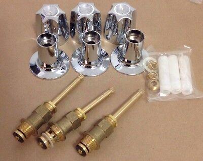 Non OEM Price Pfister Three Handle Tub And Shower Trim Kit](Shower Trim Kit)