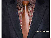 Leather tie NEW