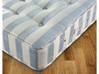Brand new rolled up memory foam with pocket sprung double mattress