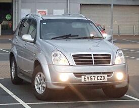 *NEW SHAPE* Rexton II 2.7 SX AWD same as Mercedes ML 270 M Class 4x4 Jeep, xc90, land rover bmw x5