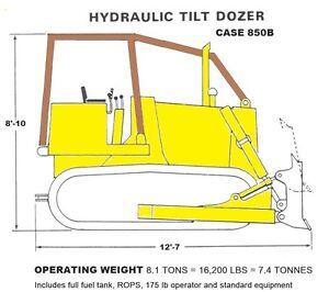 Case 850B Dozer