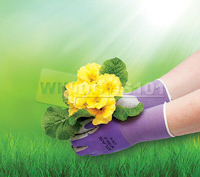 Atlas Showa 370 Nitrile Women's Gardening Gloves Equestrian - FREE SHIP!