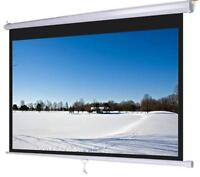 """Mustang SC-E120D4:3 Motorized Front Projection Screen (73x96"""")"""