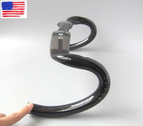 Carbon Handlebar Road Bike Bicycle Racing Handlebars drop bar 31.8*400/420/440mm