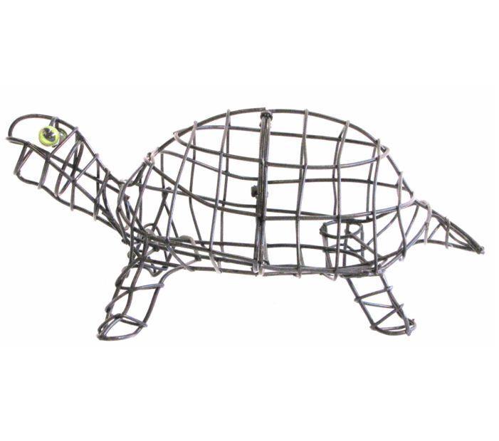 Topiary Frame Tortoise Turtle Unique Garden Design Feature