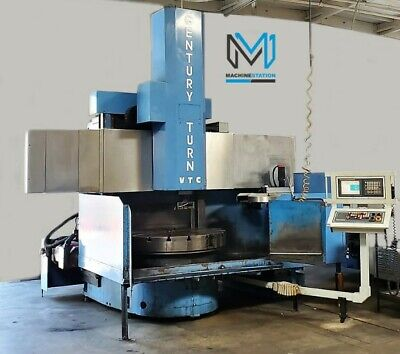 New Century Turn 56 Cnc Vertical Turning Center Vtl Lathe - 2007 Bullard Om