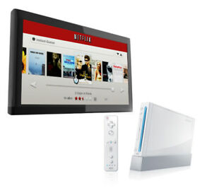 Wii system for streaming Netflix!