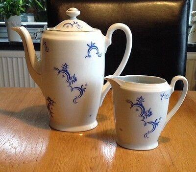 """Alte Kaffeekanne Milchkanne  Set  Porzellan """"Seltmann Weiden"""""""