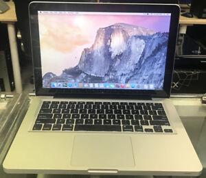 Macbook Pro 13'   i7 cpu, 8GB RAM, 500gb HDD