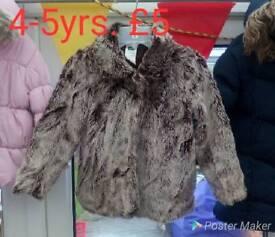 Girls 4-5yrs coats jacket
