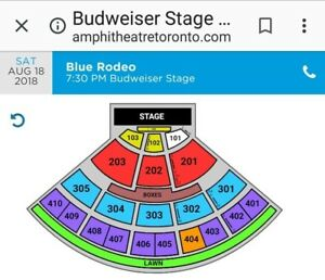 4 BLUE RODEO TICKETS WITH SERENA RYDER!!!