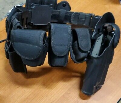 Bianchi Patroltek Law Enforcement Duty Belt Size 34-36 With All Accessories