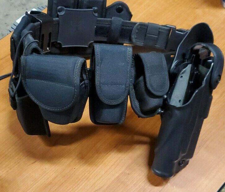 Bianchi patroltek Law Enforcement Duty Belt Size 34-36 with all accessories