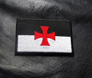 KNIGHTS TEMPLAR CROSS INFIDEL CHRISTIAN HOOK MORALE PATCH BY MILTACUSA