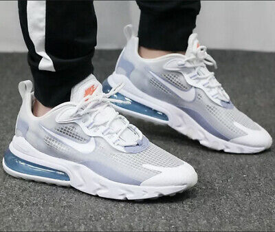 Nike Air Max 270 React SE White Pure Platinum Men's Trainers UK...