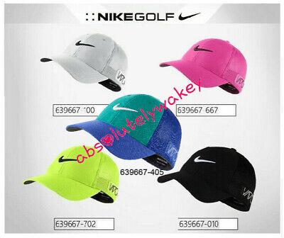 Nike Tour Legacy Malla Golf Vapor Rzn Gorra flexfit Swoosh Ajustado Peak Unisex