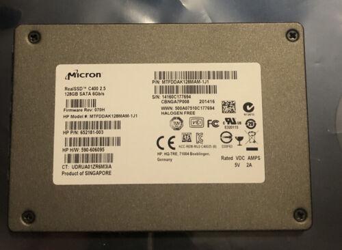 MICRON C400 128GB SSD MTFDDAK128MAM-1J1 - $18.45