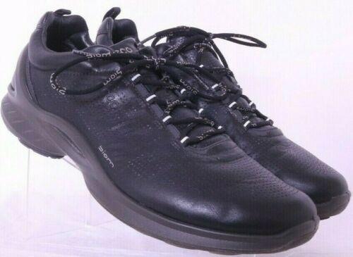 Ecco Biom Fjuel 83751401001 athletic Black leather shoes Men